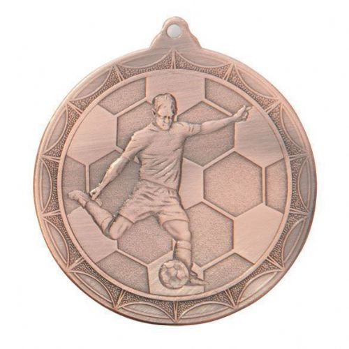 Impulse Football Medal Bronze 50mm